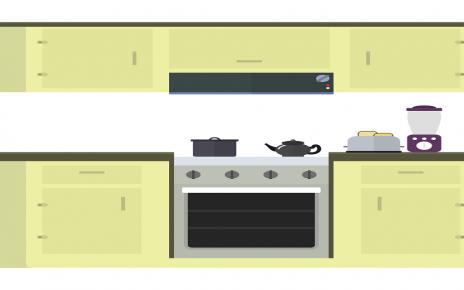 सपने में रसोईघर स्वच्छ देखना